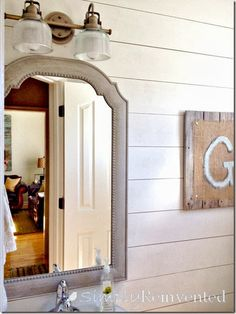 Vanity Light Fixtures Farmhouse Bathrooms And Light Fixtures On Pinterest