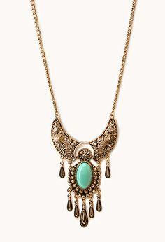 Voyager Pendant Necklace | FOREVER21 - 1000063919
