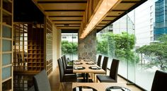 Conference Room, Oriental, Restaurant, Patio, Outdoor Decor, Table, Furniture, Home Decor, Decoration Home
