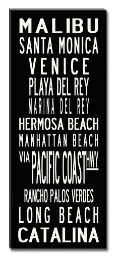 California Beach Cities