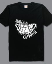 Mad Max Fury Road t shirt Nurkse shiny Chrome t shirts for men -