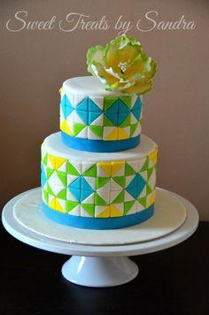 mosaic cake - Google Search
