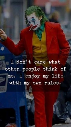 Joker Love Quotes, Joker Qoutes, Badass Quotes, Good Night Quotes, Good Thoughts Quotes, Short Inspirational Quotes, Motivational Quotes, Der Joker, Quotes Arabic