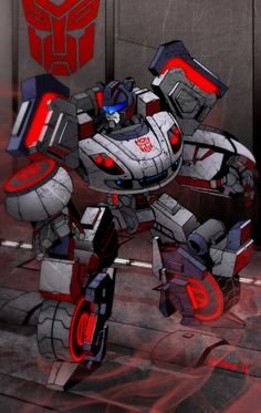 Transformers - Jazz by Dmitry Lapaev *