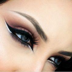 Arabian makeup