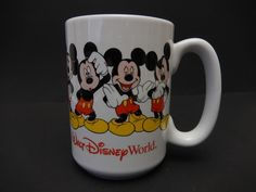 Walt Disney World Mickey Mouse Mug   $15.97                                    3553