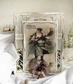 Santa Claus by Minna, featuring the Wintertime in Swedish Lapland collection