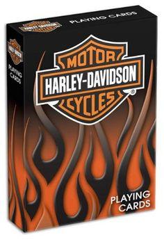 Bicycle Harley Davidson Playing Cards http://bikeraa.com/bicycle-harley-davidson-playing-cards/