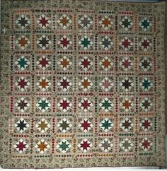 Beau chêne All by hands, piecing and quilting 2,40 x 2,40 cm