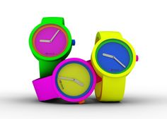 O'Clock 80'S - Fluorescent colors for spring and summer