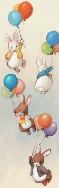 Bunnies and Balloons Image