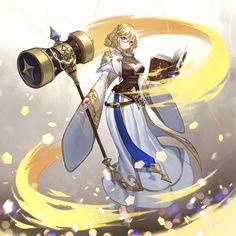 ヴァルキリーコネクト公式アカウント@ヴァルコネ (@Vconnect_jp) / Twitter Fantasy Races, Fantasy Rpg, Anime Fantasy, Fantasy Girl, Rwby Characters, Fantasy Characters, Female Characters, Female Character Design, Character Concept