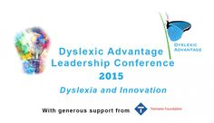 Incredible weekend at the Conference on Dyslexia and Innovation #dyslexia #dyslexicadv