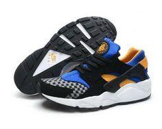purchase cheap c367f 15832 BlackFlurorescent GreenWhite Mens Nike Air Huarache Sneakers Trainers Nike  Air Huarache,