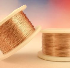32 gauge rose gold colored wire
