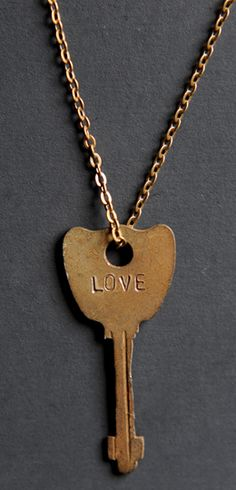 Sevenly is an awesome website with a cause of the week.  Each of their items that you purchase donates a certain amount of money to the charity.  This week's cause helps build a clean water well for a community in Ethiopia.  You can buy this Love Giving Keys Necklace at http://www.sevenly.org/product/51fa88bf34c36e4101000001?cid=ShrPinterestProductDetail