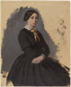 In the Swan's Shadow: Degas - Young Woman in Black