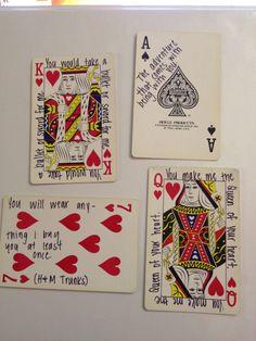 DIY Love Card Deck