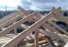 Соединение стропильных ног в лапу Construction Company Names, A Frame House, Picnic Table, Homesteading, Wood, Garden, Crafts, Home Decor, Google