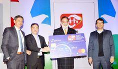 Finance Minister Dr Haseeb Drabu launching J&K Banks Family Protection Savings scheme at Srinagar.