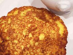 おからパウダーと卵で作る大満足の食事パンの画像