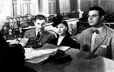 from the 1940 movie Lucky Partners  courtroom scene..