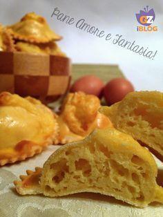 FIADONI Italian Pastries, Italian Desserts, Italian Dishes, Italian Recipes, Easy Sponge Cake Recipe, Sponge Cake Recipes, Italian Biscuits, Italian Cookies, Easter Bread Recipe