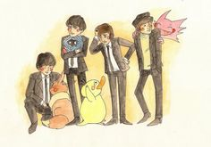 Pokémon and The Beatles