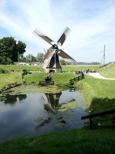 **Windmill at Zuiderzee Museum, The Netherlands