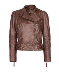 MANGO - Leather jacket. For my sister.
