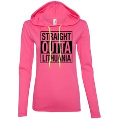 Outta Lithuania -- Gals Hoodie T