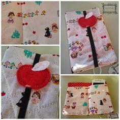 Bolsa Dupla para Telemóvel - Branca de Neve  Double purse for cell phone - made by me :)