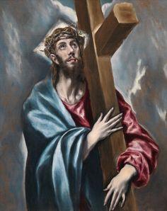 Cristo abrazado a la cruz - Colección - Museo Nacional del Prado