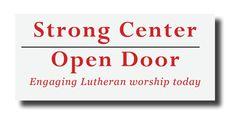 Strong Center Open Door