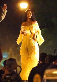 June 5: Rihanna on set of a music video in Miami