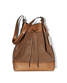 PERF DRAWSTRING BAG by Vince Camuto... I need this in my life, asap.