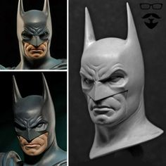 ★Batman Head Sculpt ★ Find more at http://www.pinterest.com/ianimateschool/ iAnimate.net is quite simply the best animation program in the world