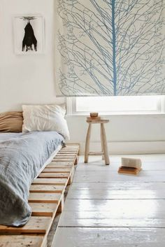 Pallet beds are of great interest because they are useful, long-lasting and suitable for every style. Here are the beautiful pallet bed ideas.
