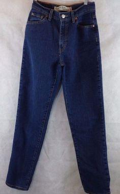 LEVI'S 512 Red Tab CLASSIC SLIM FIT Tapered Leg Stretch Blue Jeans Womens 6 M  #Levis #SlimSkinny