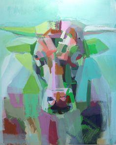 "Teil Duncan; Painting, ""Bull II"""