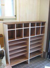 出し入れ簡単 オープン棚の靴箱 | DIYで作るオシャレな暮らし【金曜大工】
