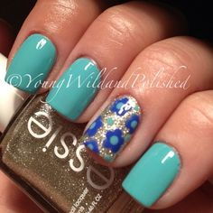 flower nail designs | Flower Nails
