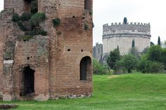 Roma, Italy  Tomba di Cecilia Metella by Edoardo Forneris, via Flickr