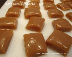 Once you make Homemade Caramels, you'll never want store bought again!