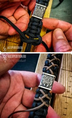 bracelets patterns Paracord bracelet MadMax Style with Exclusive Brass bead - Stacha Styles Paracord Bracelet Designs, Paracord Projects, Paracord Bracelets, Bracelets For Men, Bracelet Fil, Bracelet Crafts, Bracelet Making, Paracord Braids, Paracord Knots