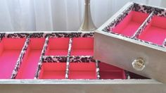 She Inspires Us By Making This Lovely Drawer Organizer And Shows Us How Easy It Is To Do (Watch!)   DIY Joy Projects and Crafts Ideas
