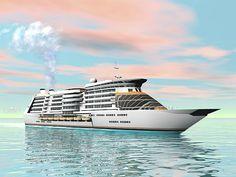 Cruise Ship - Render by Elenarts - Elena Duvernay Digital Art