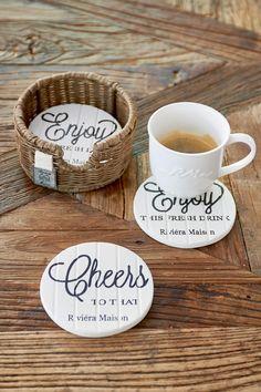 New Arrivals | Rivièra Maison Enjoy Cheers Coasters