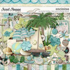 Sweet Shoppe Designs - Encinitas by Krystal Hartley, mle Card, & Tracie Stroud $7.99
