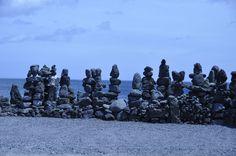 정성으로 쌓은 돌탑..세화리..20130715